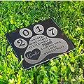 P Lab Personalized Granite Pet Memorial Stone A Loving Soul Customized Headstone Marker #9