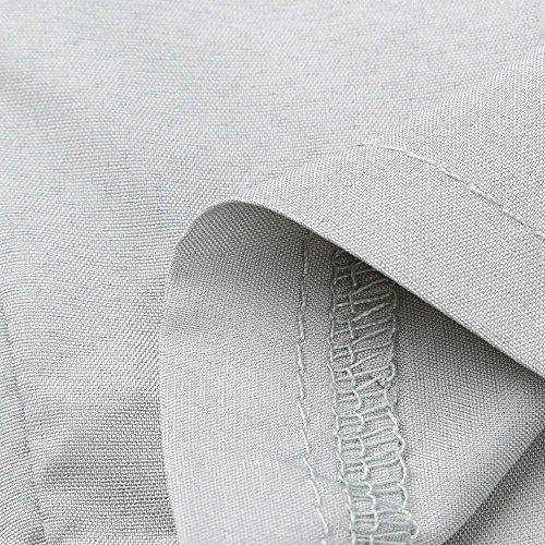 Femmes Mode Moderne Loisirs Haute 8 Taille Pantalons Élégant Maigre Haidean Noeud Confortable Grau 7 Décontracté Summer Unicolore Avec Temps Léger Dames Crayon UPFxRqZ