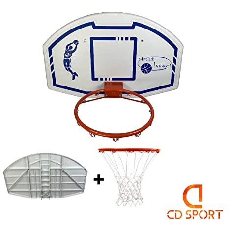 CDsport - Kit de Baloncesto, Tabla, Canasta y Retina, Profesional ...