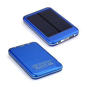 eyeCam 5000 mAh energía Solar banco cargador de batería ...