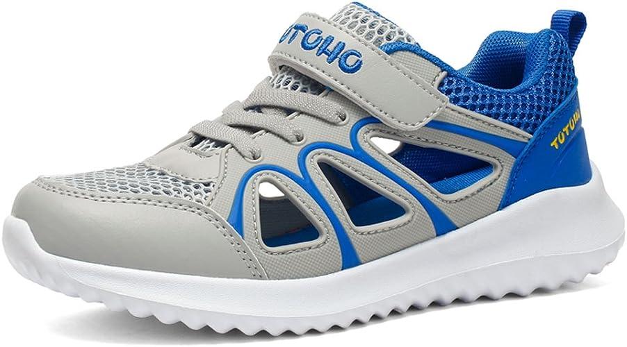 Zapatillas de Deporte Niño Verano Sandalias de Vestir para Niña Zapatillas de Running Respirable Sandalias de Playa Deportivas Ligero Zapatos Gris 33 EU: Amazon.es: Zapatos y complementos