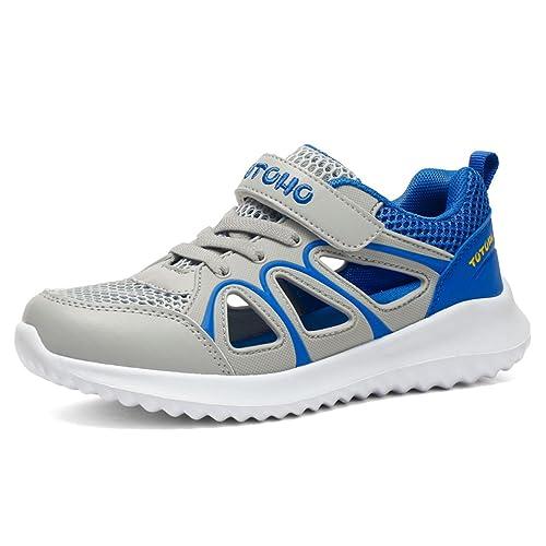 a6d3fa5a3 KVbaby Sandalias de Vestir para Niño Respirable Sandalias Deportivas para  Niña Zapatillas de Verano Ligero Zapatos de Playa  Amazon.es  Zapatos y ...