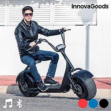 InnovaGoods® CHOPPER: patinete eléctrico con sillín, 65 km ...