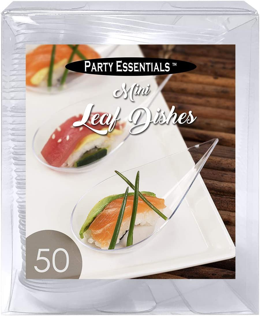 Mini Spoons Pack of 30 Party Essentials Miniware Hard Plastic 4 Appetizer and Dessert
