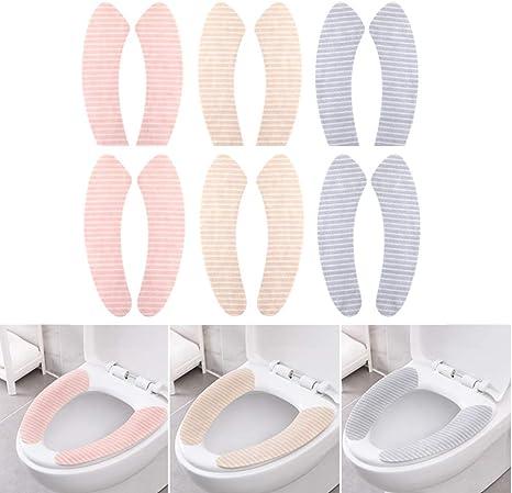 AA/_ Hk Co /_ Toilette Deckel Pad Badezimmer Schutz Toilettendeckel Weich Warm Ma