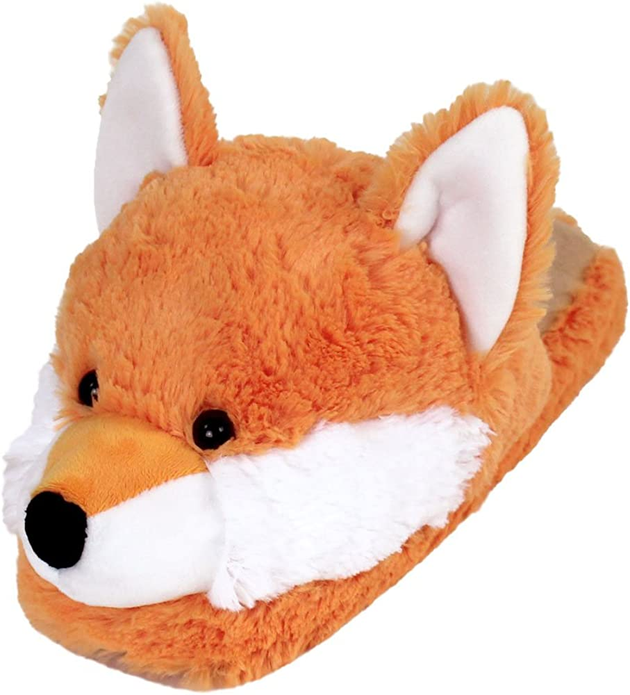 Womens Furry Slippers Ladies Cute Plush Fox Hair Fluffy Slippers Womens Fur Slippers,Fox hair7,8.5