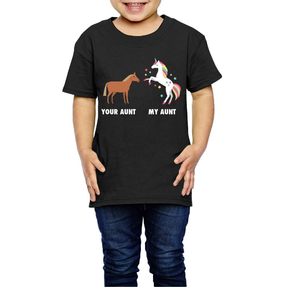 Qwiefs-saw Youth Your Aunt My Aunt Tshirts Photoshoots Or Hiking Camping Travel Vacation T-Shirt Or Daily Wear 3 Toddler