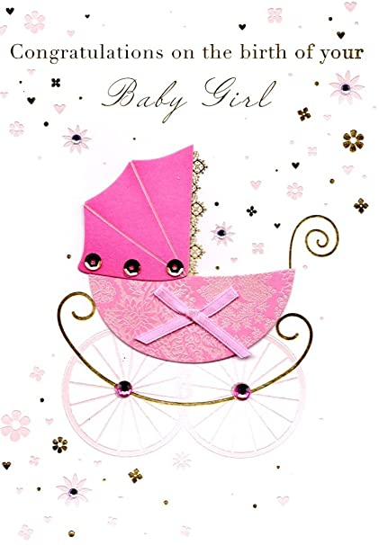 Amazon talking pictures congratulations birth new baby girl talking pictures congratulations birth new baby girl greeting card by cards m4hsunfo