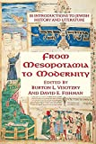 From Mesopotamia To Modernity: Ten Introductions To Jewish History And Literature