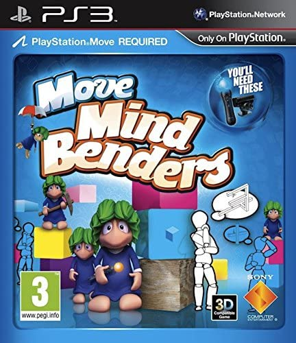 Sony Move Mind Benders PlayStation 3 vídeo - Juego (PlayStation 3, Niños, E (para todos)): Amazon.es: Videojuegos