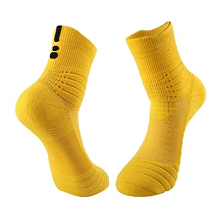 Seasaleshop – Calcetines de Deporte Hombre Running Calcetines, comfortables Transpirables para Running, Basketball,