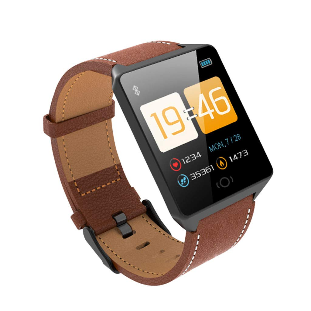 Aobiny Smart Watch,Fitness Tracker CK19 Smart Watch Sports Fitness Activity Heart Rate Tracker Blood Pressure Calories