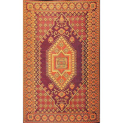 (Mad Mats - Oriental Turkish Rust - 5X8)