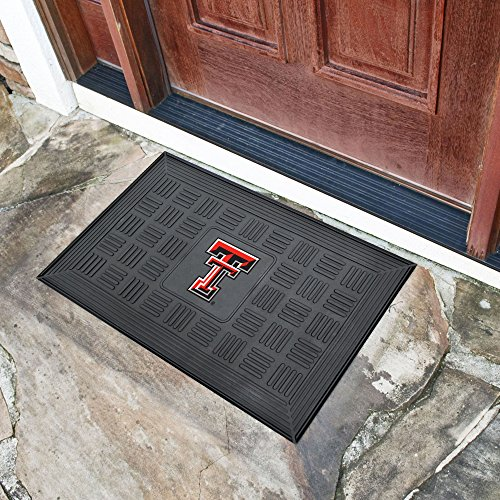 Texas Tech Rug - FANMATS NCAA Texas Tech University Red Raiders Vinyl Door Mat