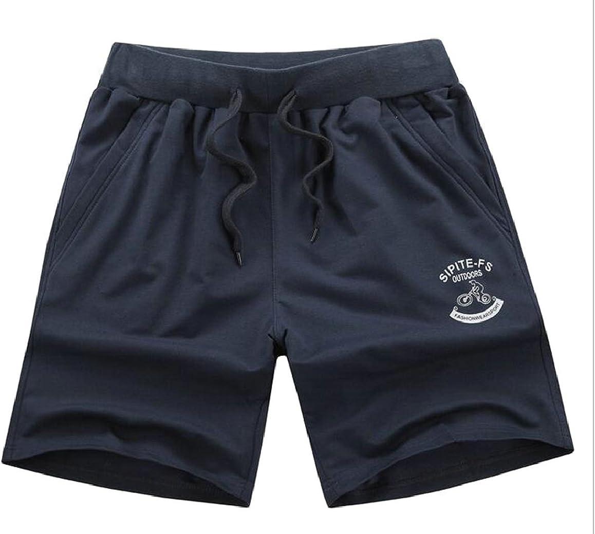 ouxiuli Mens Classic Workout Pant Elastic Waist Drawstring Running Gym Sport Shorts