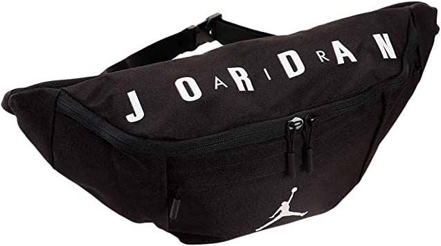 Nike Air Jordan Crossbody Waist Hip Pack (One Size, Carbon Heather): Amazon.es: Deportes y aire libre