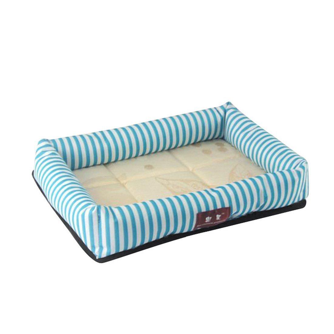 Xinjiener Cama para Perros de Verano Colchoneta para Dormir para Mascotas Colchoneta para Gatos Blue XL: Amazon.es: Productos para mascotas