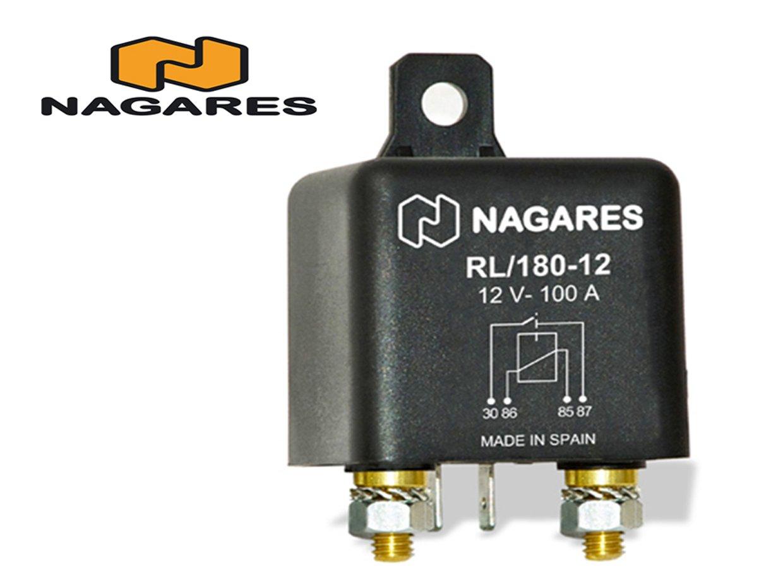 Nagares RL/180-12 Relé , corriente de trabajo Nagares S.A.