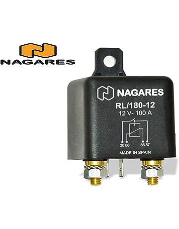 Nagares RL/180-12 Relé, corriente de trabajo