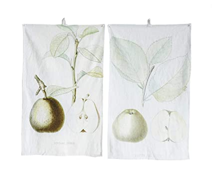 Amazon Com Vintage Reproduction Pear Mint Green 28 X 18 Cotton