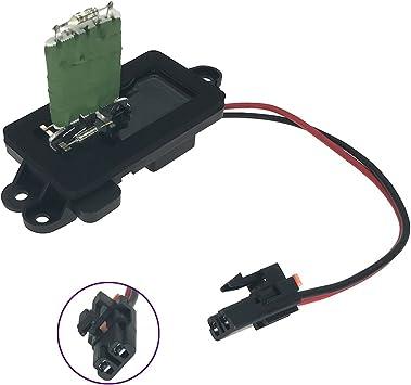 Amazon.com: 1581086 Blower Motor Resistor Complete Kit with Wire ... steering wheel radio controls wiring diagram Amazon.com