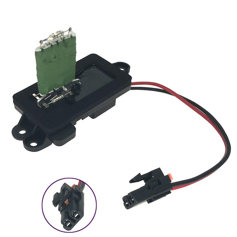 1581086 blower motor resistor complete kit with wire harness manual ac heater control module for chevy silverado suburban tahoe gmc sierra yukon Colorado Blower Motor Wire Harness