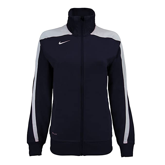 NIKE Women s Mystifi Warm-Up Jacket at Amazon Women s Clothing store  d03f36a4d