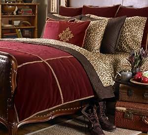 Amazon Com Ralph Lauren Venetian Court Burgundy Velvet