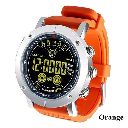 SDSFMF Reloj Inteligente Smart Watch Swim Waterproof Call ...