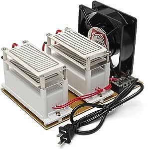 GRASSAIR 20G 220V Ozonizador portátil Purificador Generador de ozono Metal Plástico Máquina de desinfección con ozono Esteriliza el Aire purificador, para el Coche de ...