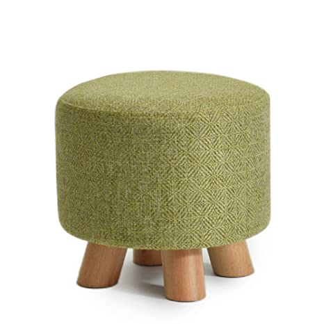 Sensational Amazon Com Wood Ottoman Non Slip Breathable Foot Rest Soft Caraccident5 Cool Chair Designs And Ideas Caraccident5Info