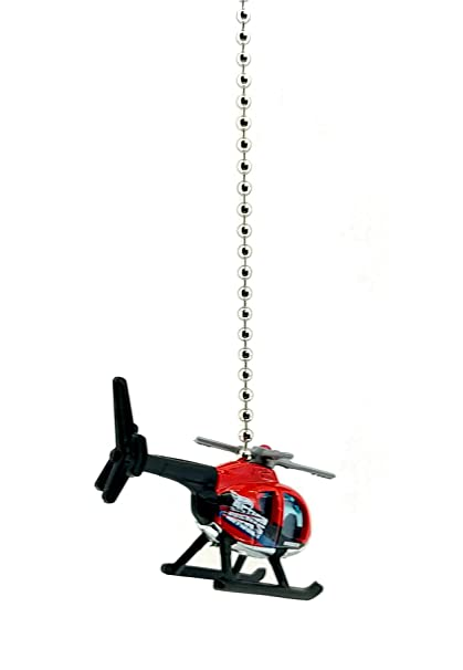 Helicopter Aircraft Ceiling Fan Light Chain Pull Ornaments 1 64 Helicopter Red Black Pull Chain Ornaments Bonsaipaisajismo Lighting Ceiling Fans