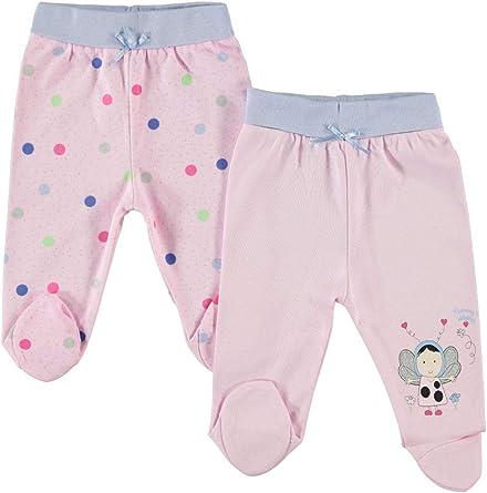 Civilim - Pijama de Punto para niña (0-6 Meses, 100% algodón) Rosa 6 Meses: Amazon.es: Ropa y accesorios