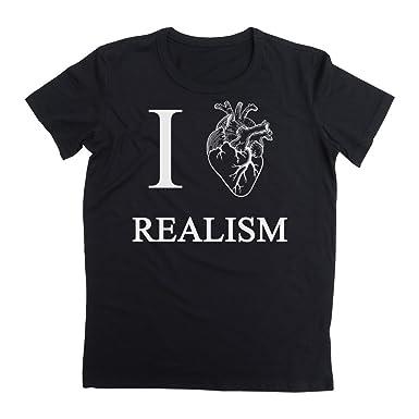 Amazon com: I Love Realism Real Heart Sketch Men's T-Shirt