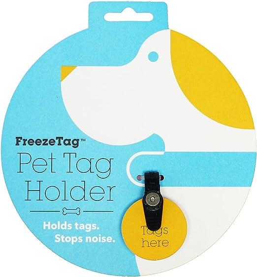 FreezeTag Dog Tag Silencer and Connector