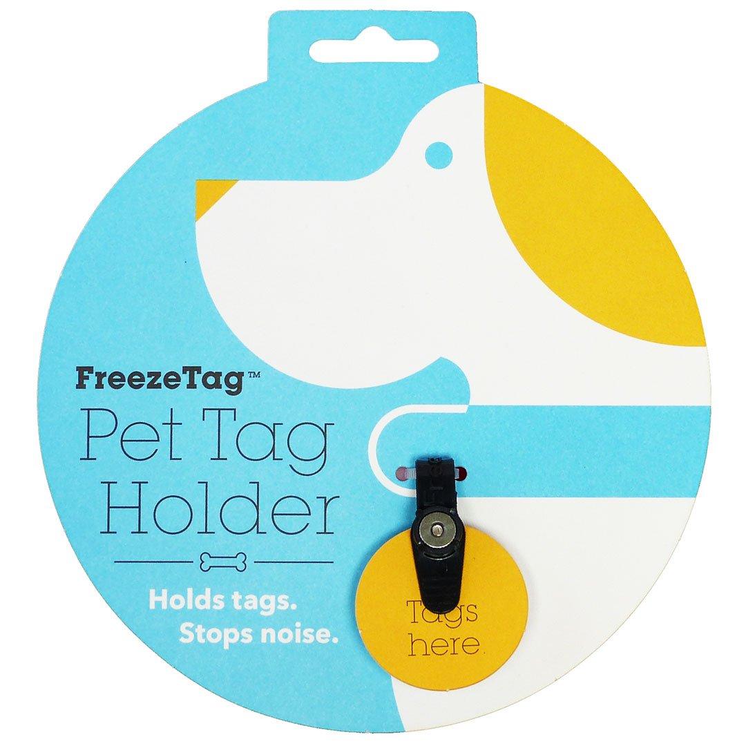 FreezeTag Dog Tag Silencer and Connector Graphite