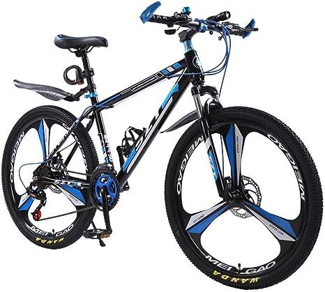 GPAN 24/26 Pulgada Bikes Bicicleta Montaña,24 velocidades,Doble Freno Disco,Doble suspensión,Bicicleta MTB para Adulto,24: Amazon.es: Deportes y aire libre
