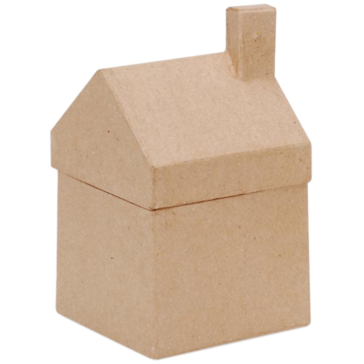 Paper Mache House Box - 3-1/2 x 6-1/4 x 3-5/8 in Darice 2863-05