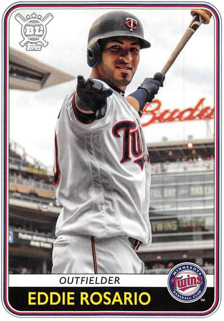 2020 Topps Big League #142 Eddie Rosario NM-MT Minnesota Twins Baseball