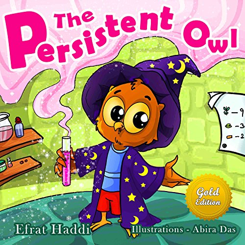 Children's Book: The Persistent Owl Gold Edition : Christmas Magic story books for children (Bedtime books for children Book 1)