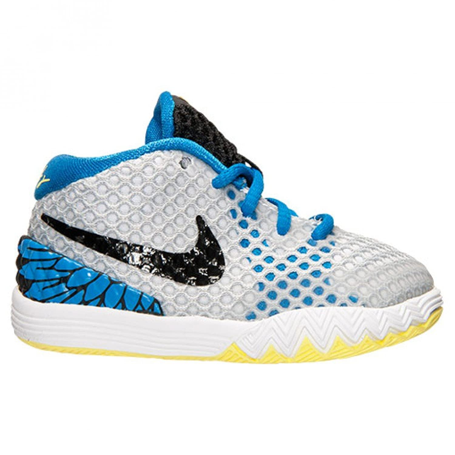 hot sale online 413e9 580a1 ... netherlands amazon nike kyrie 1 young eagles toddler boys shoe white  light voltage yellow photo blue ...