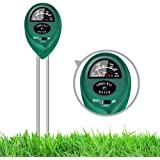 3 in 1 Soil Test Kit, Plant Water Light PH Moisture Meter Kits for Outdoor Garden Farm Plants, No Batteries Required