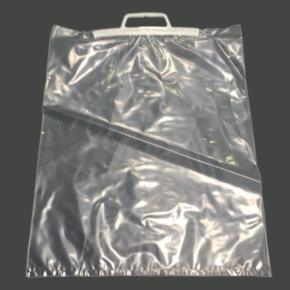 Clip Close Handle Clear Polybags 15 x 20-381 x 500mm 2