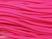 100FT Type III Neon Pink Paracord 550 Parachute Cord 7 Strand Made In USA