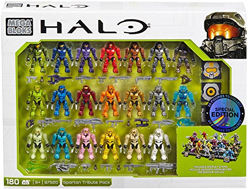 Mega Construx Halo Exclusive Spartan Tribute Set (97520) by Mega Bloks