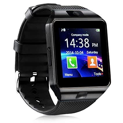 321OU Smart Watch Bluetooth Smart Watch Fitness Tracker Touchscreen iOS Android Compatible with Camera Pedometer Sleep Monitor Call/Message Music for ...