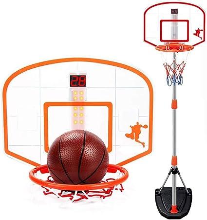 ZAIHW Juego de Baloncesto for niños, Sistema de Red de aro ...