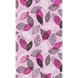 Wonderful 26inch X 5ft Pink Floral Non Slip Rubber Hallway Kitchen Bathroom SOFT FOAM  Runner Mat Rug Custom Size Able (26 Inch Wide By 5 Feet Long)