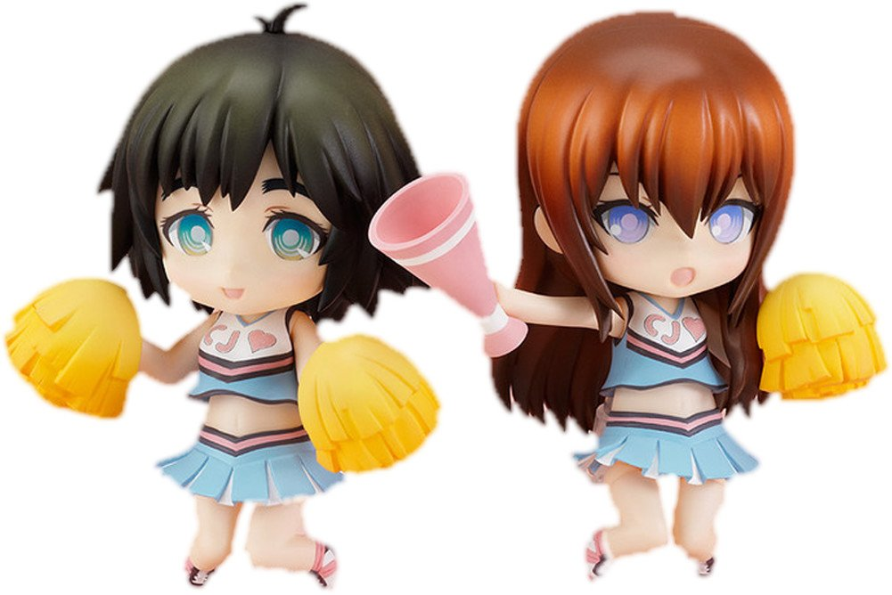 Kurisu Makise & Mayuri Shiina Cheerful Japan ver. Nendoroid