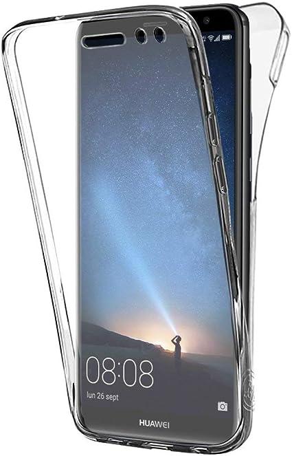 Funda para Huawei Mate 10 Lite, Silicona Transparente 360 Grados ...